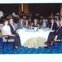 Mesa Presidencial Cena San Crispín