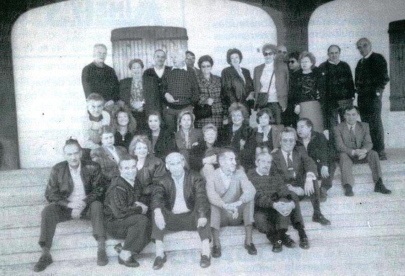 Viaje a Arnedo en 1990