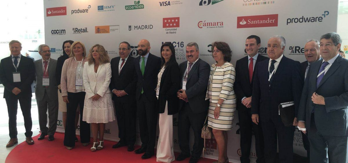 autoridades en inauguracion MADRID RETAIL CONGRESS 2016