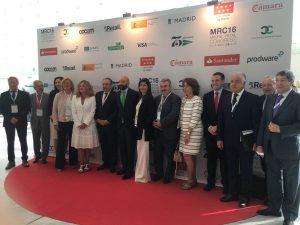 autoridades en inauguracion MADRID RETAIL CONGRESS 2016